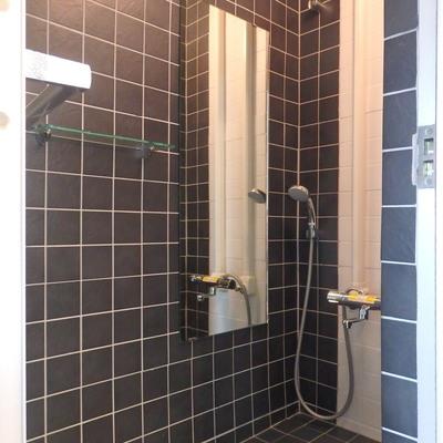 シャワールームはペットと入れます♪