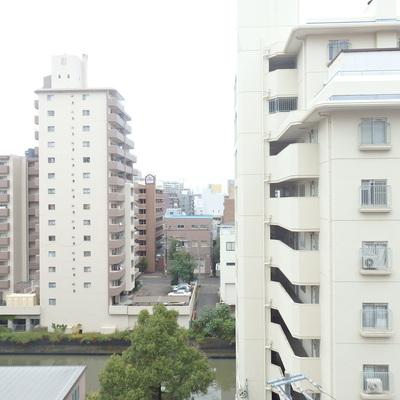 8階の眺望です!
