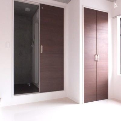 2階はシンプルなデザインです