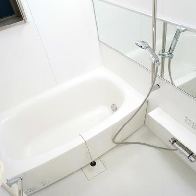 お風呂はフル装備!