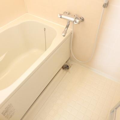 まっしろな浴槽。