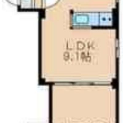広めのリビングにダブルベットも置ける寝室!
