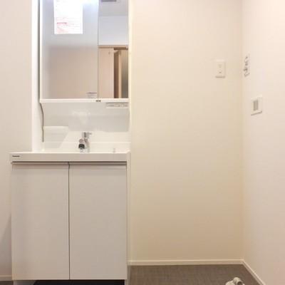 洗面所兼脱衣スペース!