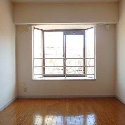 お部屋の中心にある洋室です。
