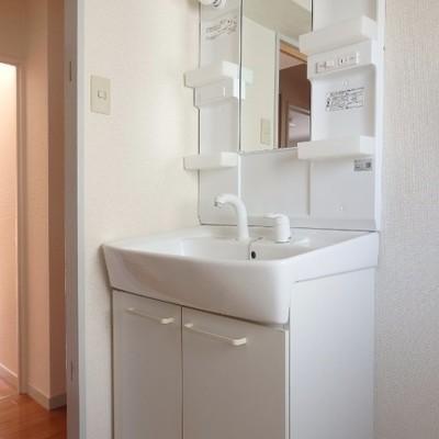 独立洗面台あります。