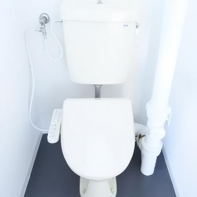 トイレはウォシュレット付きになりました!