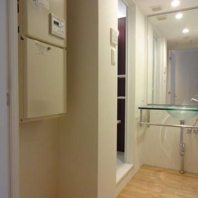 脱衣スペース※別部屋の写真です