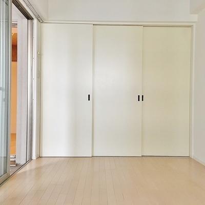 引き戸で空間を分けることもできます!