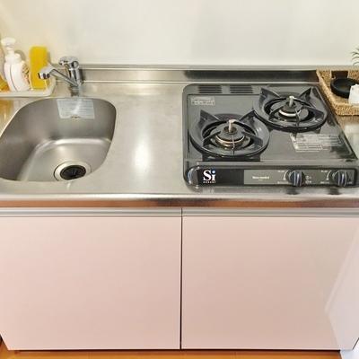 調理スペースが狭め。