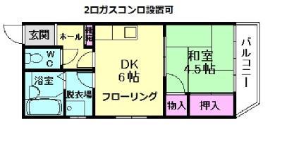 神崎川7分マンション の間取り