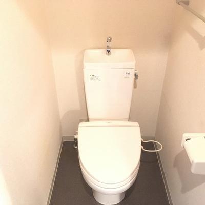 トイレはキレイに♪