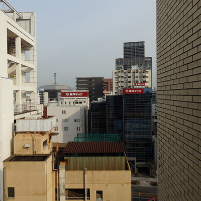 10階からの景色です。