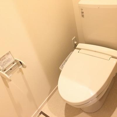 個室トイレが嬉しい!