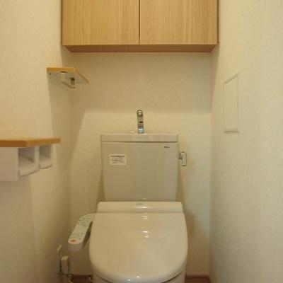 トイレもウォシュレット付いてます。