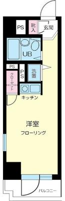 東長崎10分マンション の間取り