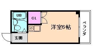 大阪港4分マンション の間取り