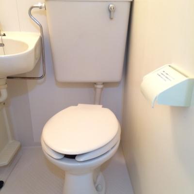 トイレを単体で撮影