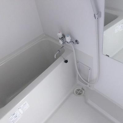 お風呂はコンパクト。※写真は前回募集時のものです