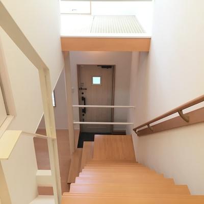 そして階段をのぼると。
