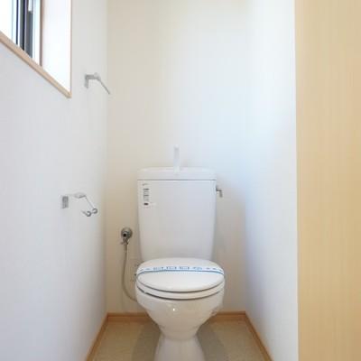 2階にもお手洗いが!