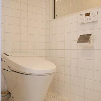 同空間にトイレ。 ※写真は前回募集時のものです。