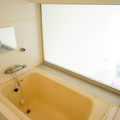 追い焚きつきのお風呂からの景色も良好。