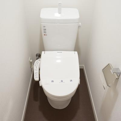 トイレはもちろん個室で機能的!※写真は前回募集時のものです