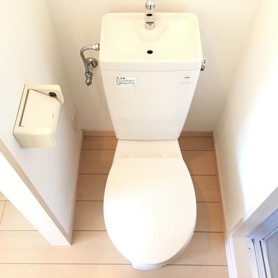 トイレもキレイになってます♪