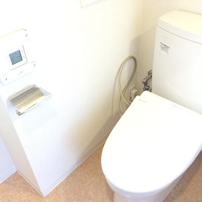 ウォシュレット付きのトイレ ※写真は前回募集時のものです