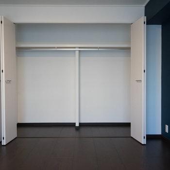 収納も大容量!!※写真は1階の同間取り別部屋のものです。