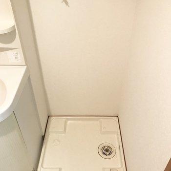 洗濯パンもしっかりと。(※写真は同じ間取りの5階のお部屋のものです)