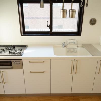 キッチンは3口ガス!