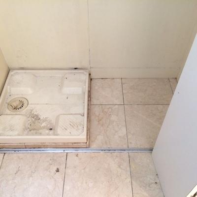 洗濯機置場は1階のキッチン横に