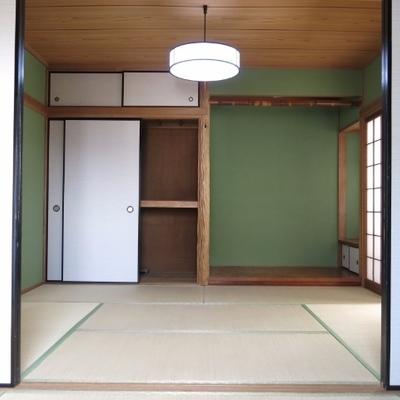 床の間ある〜〜〜〜!