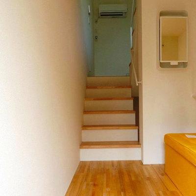 階段はしっかりしてます。※写真は前回募集時のものです