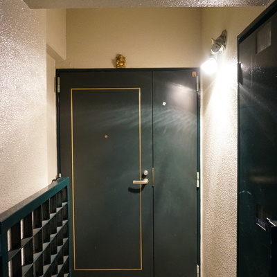 玄関手前のポーチ部分