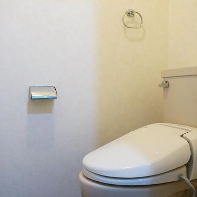 ここは欠かさず温水洗浄便座