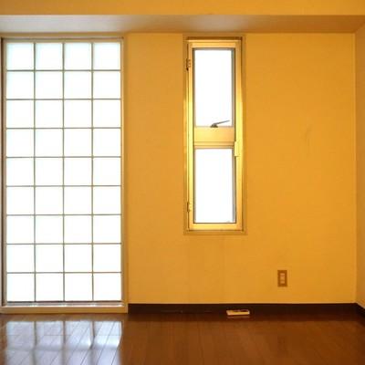 5帖:北向きのお部屋はあんまり採光はありません