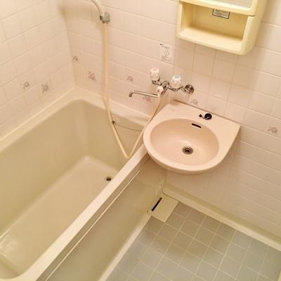独立洗面台はありません。。。※写真は前回掲載時のものです。