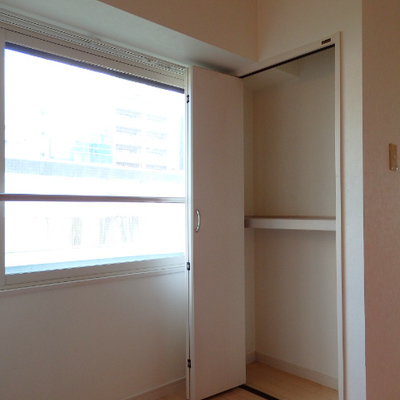 キッチン横の収納はこんな感じ※写真は別部屋