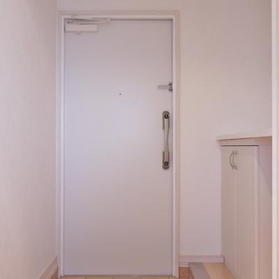 ゆったりとした玄関にはシューズBOXも完備※写真は、前回撮影時のもの