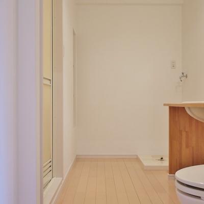 洗面とトイレは同室です※写真は、前回撮影時のもの