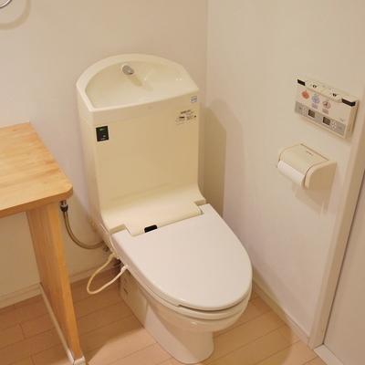 トイレはウォシュレット付き※写真は、前回撮影時のもの