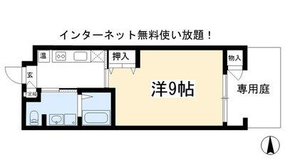 Mur Kamogawa の間取り