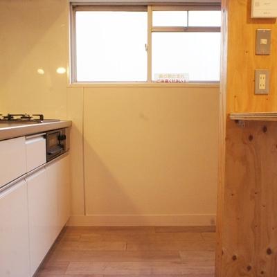キッチンスペースもゆったり ※写真は前回募集時のものです