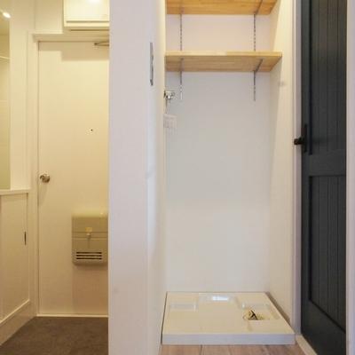 洗濯機置き場はここに ※写真は前回募集時のものです
