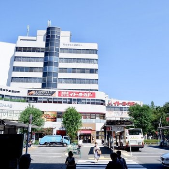 阿佐ヶ谷駅北口(大型スーパー)