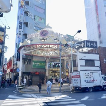 阿佐ヶ谷の商店街の様子