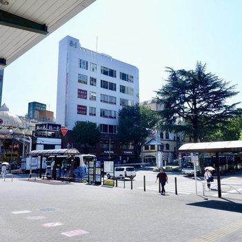 阿佐ヶ谷駅南口(商店街)