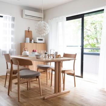 【家具イメージ】家族団らん、食卓はみんなで楽しむ囲みたい!